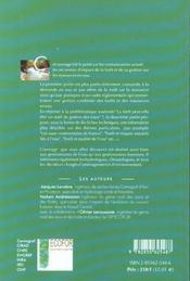 Eaux et forets. la foret. un outil de gestion des eaux ? no 1 - 4ème de couverture - Format classique