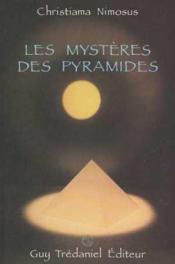 Les Mysteres Des Pyramides - Couverture - Format classique