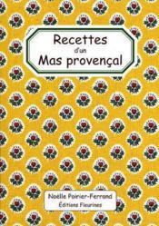 Recettes D'Un Mas Provencal - Couverture - Format classique