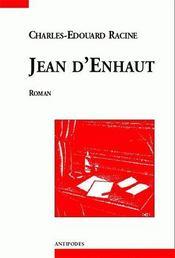 Jean d'Enhaut - Couverture - Format classique