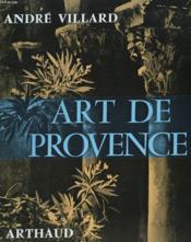 Art De Provence - Couverture - Format classique