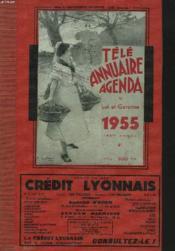 TELE ANNUAIRE AGENDA DU LOT-ET-GARONNE 1955 (165e ANNEE) - Couverture - Format classique