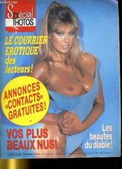 Cine Revue - Special Photos - 65e Annee - N° 30 - Le Courrier Erotique Des Lecteurs - Vos Plus Beaux Nus - Couverture - Format classique