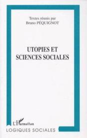 Utopies et sciences sociales - Couverture - Format classique
