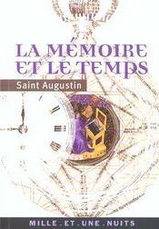 La memoire et le temps - Intérieur - Format classique