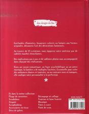Déco lumineuse - 4ème de couverture - Format classique