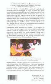 Celebrer La Vie ; Lecons De Sagesses De Sri Sri Ravi Shankar - 4ème de couverture - Format classique