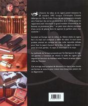Cigares Du Monde - 4ème de couverture - Format classique