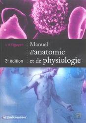 Manuel D Anatomie Et De Physiologie 3eme Edition (3e édition) - Intérieur - Format classique