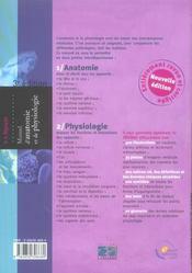Manuel D Anatomie Et De Physiologie 3eme Edition (3e édition) - 4ème de couverture - Format classique