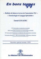 En Bons Termes 1999 - Intérieur - Format classique