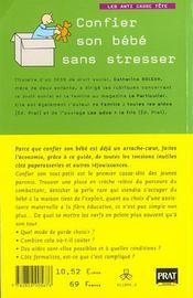 Le Guide Des Modes De Garde N1 - 4ème de couverture - Format classique