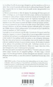 La Republique Des Girouettes - 4ème de couverture - Format classique