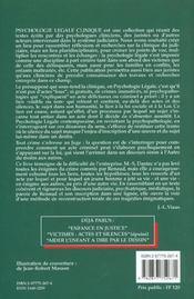 D'Un Crime Immotive ; L'Enigme Et Le Passage - 4ème de couverture - Format classique