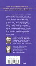 Discours De La Methode Creatrice - 4ème de couverture - Format classique