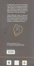 Bruxelles Dans Bd, Bd Dans Bruxelles - 4ème de couverture - Format classique