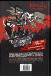 Emily the strange t.3 ; la treizième heure - 4ème de couverture - Format classique