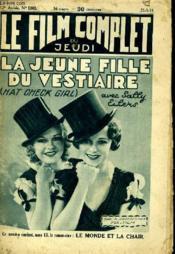 Le Film Complet Du Jeudi N° 1303 - 12e Annee - La Jeune Fille Du Vestiaire - Couverture - Format classique