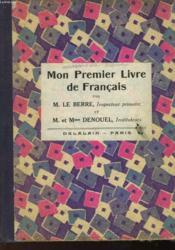 Mon Premier Livre De Francais - Couverture - Format classique