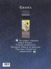 Gregor Kyralina t.1 ; amour empoisonné - 4ème de couverture - Format classique