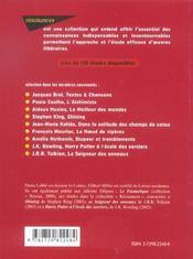 Etude Sur Da Vinci Code Dan Brown - 4ème de couverture - Format classique
