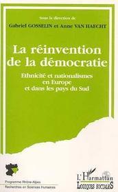La Reinvention De La Democratie - Intérieur - Format classique