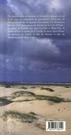 Côte d'opale ; promenades écologiques et littéraires - 4ème de couverture - Format classique