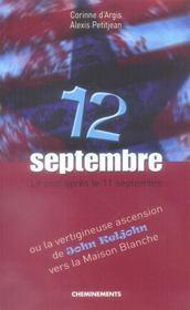 12 Septembre Ou La Vertigineuse Ascension De John Keljohn - Intérieur - Format classique