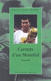 Carnets D'Un Mondial - Couverture - Format classique