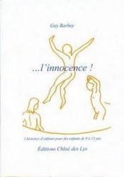 L'innocence - Couverture - Format classique