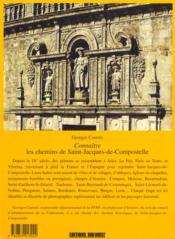 Aed Connaitre Les Chemins De St-Jacques De Compostelle - 4ème de couverture - Format classique