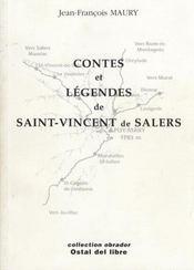 Contes Et Legendes De Saint-Vincent De Salers - Intérieur - Format classique