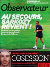 Nouvel Observateur (Le) N°2473 du 29/03/2012 - Couverture - Format classique