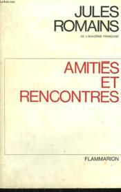 Amities Et Rencontres. - Couverture - Format classique