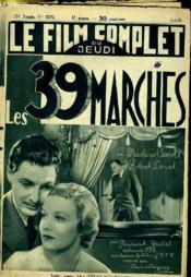 Le Film Complet Du Jeudi N° 1777 - 15e Annee - Les 39 Marches - Couverture - Format classique