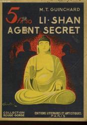 Li-Shan, Agent Secret - Couverture - Format classique