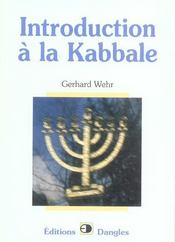 Introduction a la kabbale  - Gerhard Wehr