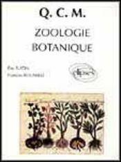 Qcm Zoologie Botanique - Intérieur - Format classique