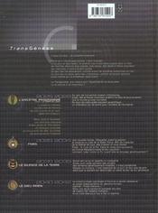 L'Ancetre Programme T.1 ; Le Temps De L'Eveil - 4ème de couverture - Format classique