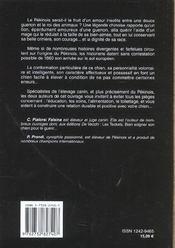 Le pékinois - 4ème de couverture - Format classique