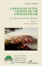 Chants De Lutte Chants De Vie A Madagascar T.1 - Couverture - Format classique