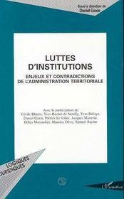Luttes d'institutions - Intérieur - Format classique
