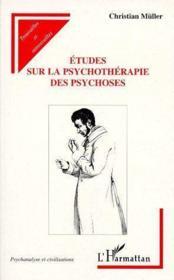 Études sur la psychothérapie des psychoses - Couverture - Format classique