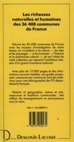 Lot-et-Garonne ; le guide complet de ses 317 communes - 4ème de couverture - Format classique