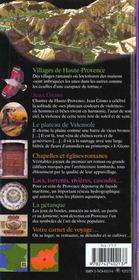 Alpes-De-Haute-Provence (Digne, Castellane, Manosque, Forcalqui - 4ème de couverture - Format classique