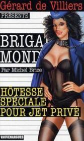 Brigade mondaine t.235 ; hôtesse spéciale pour jet privé - Couverture - Format classique