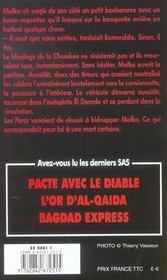 Sas T.153 ; Ramenez-Les Vivants - 4ème de couverture - Format classique