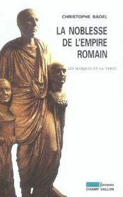 La Noblesse De L'Empire Romain - Intérieur - Format classique