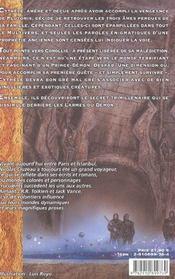 Larmes Du Demon-Le Dit De Cythele-2 - 4ème de couverture - Format classique