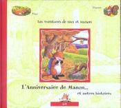 L'anniversaire de manon et autres histoires - Intérieur - Format classique